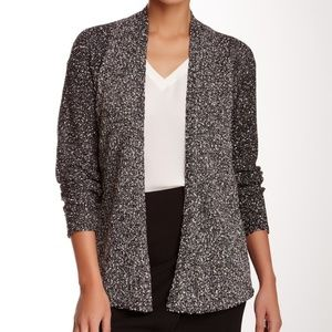 Eileen Fisher Open Front Knit Cardigan Plus Size